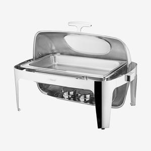 自助餐炉单盆 长方形 透视