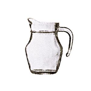 鸭嘴壶光杯玻璃壶 0.5L
