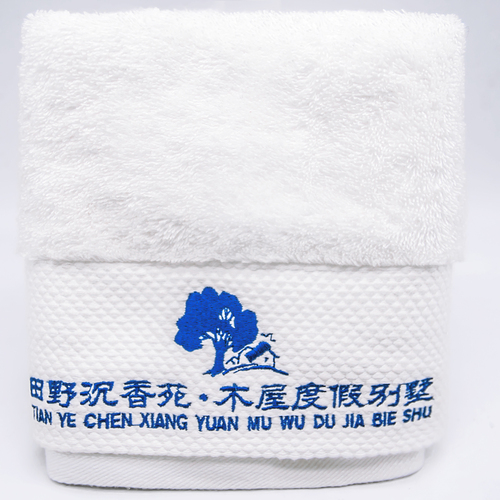 平小牌皇家经典铂金缎毛巾