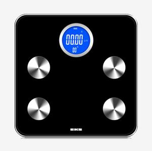 EKS方形圆角电子人体脂肪秤+蓝牙+APP 9920SV