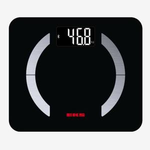 EKS方形圆角电子人体脂肪秤+蓝牙+APP 9917SV